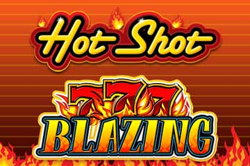 Hot Shot Progressive Blazing 7s slot
